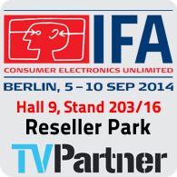TVPartner @ IFA 2014 Berlin